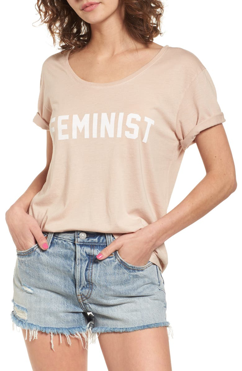 DAYDREAMER Feminist Graphic Tee, Main, color, 250