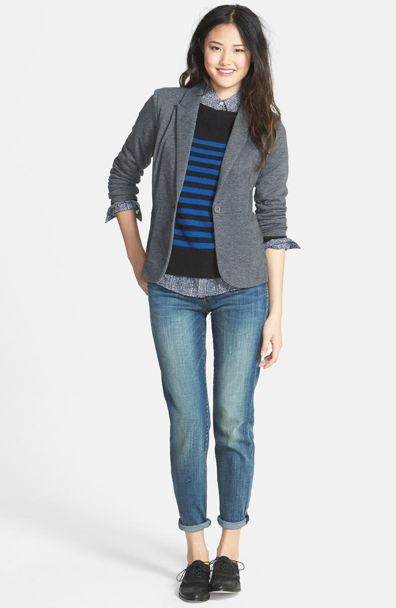 HALOGEN<SUP>®</SUP> Solid Cashmere Sweater, Main, color, 002