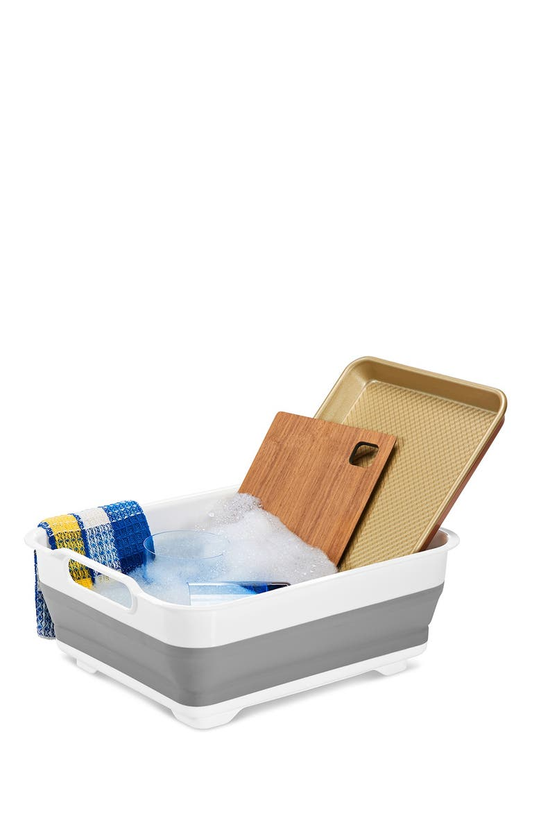 MADESMART Collapsible Wash Basin, Main, color, WHITE