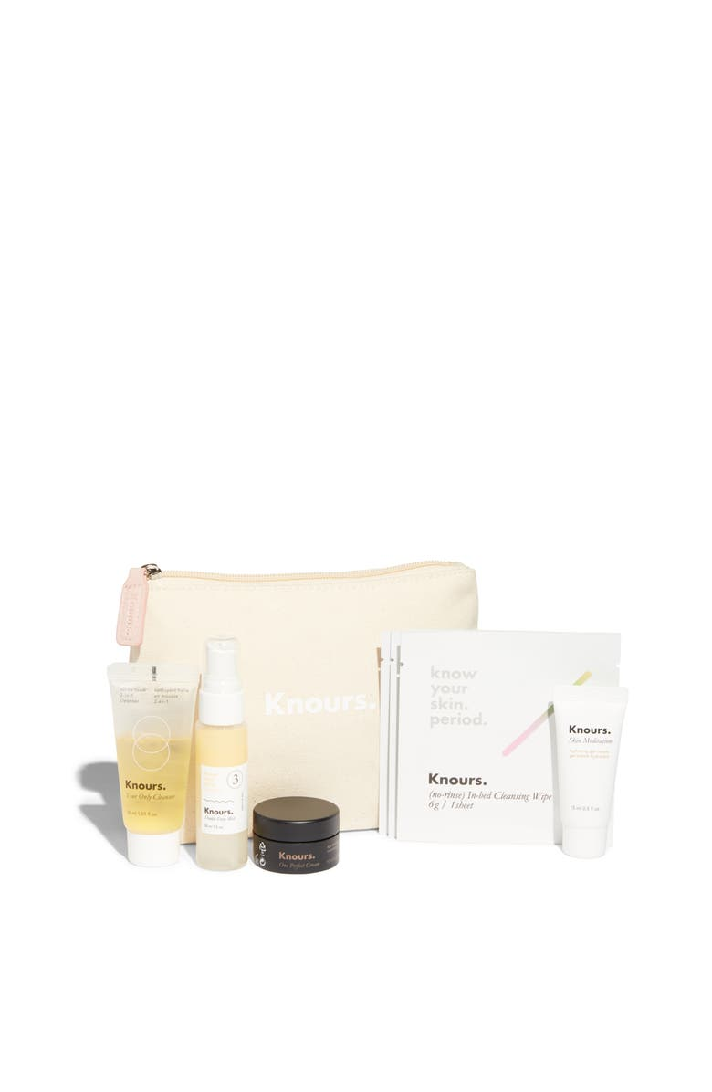 KNOURS Know Your Skin. Period. Skin Care Starter Kit, Main, color, Pink