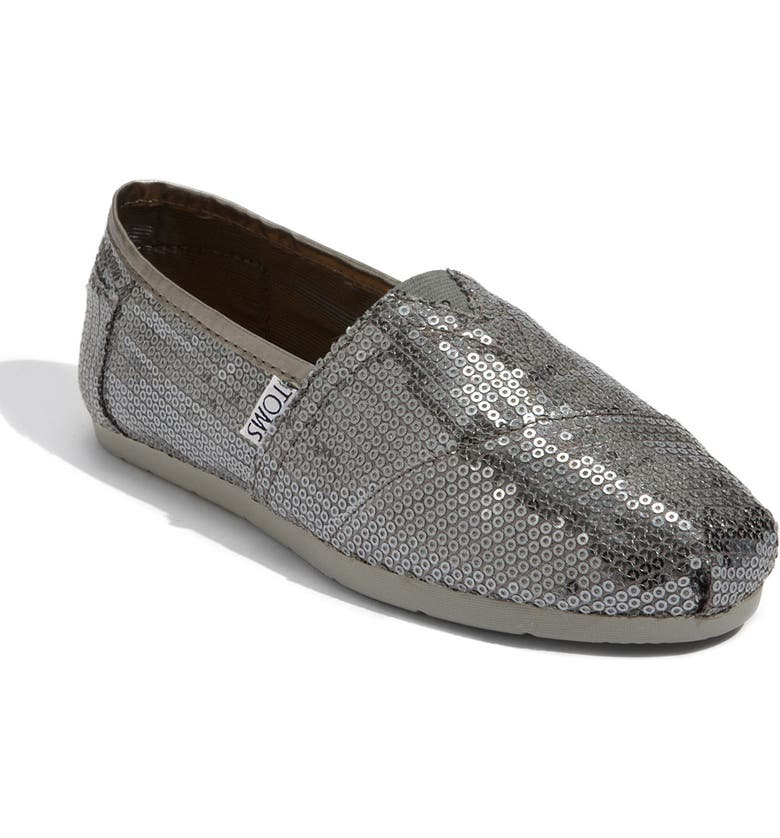 TOMS 'Classic - Sequins' Slip-On, Main, color, 040