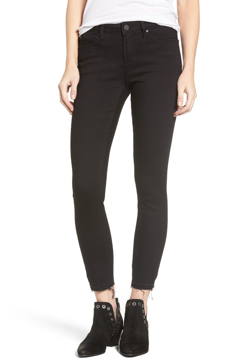 ARTICLES OF SOCIETY Carly Crop Skinny Jeans, Main, color, DUNLOP