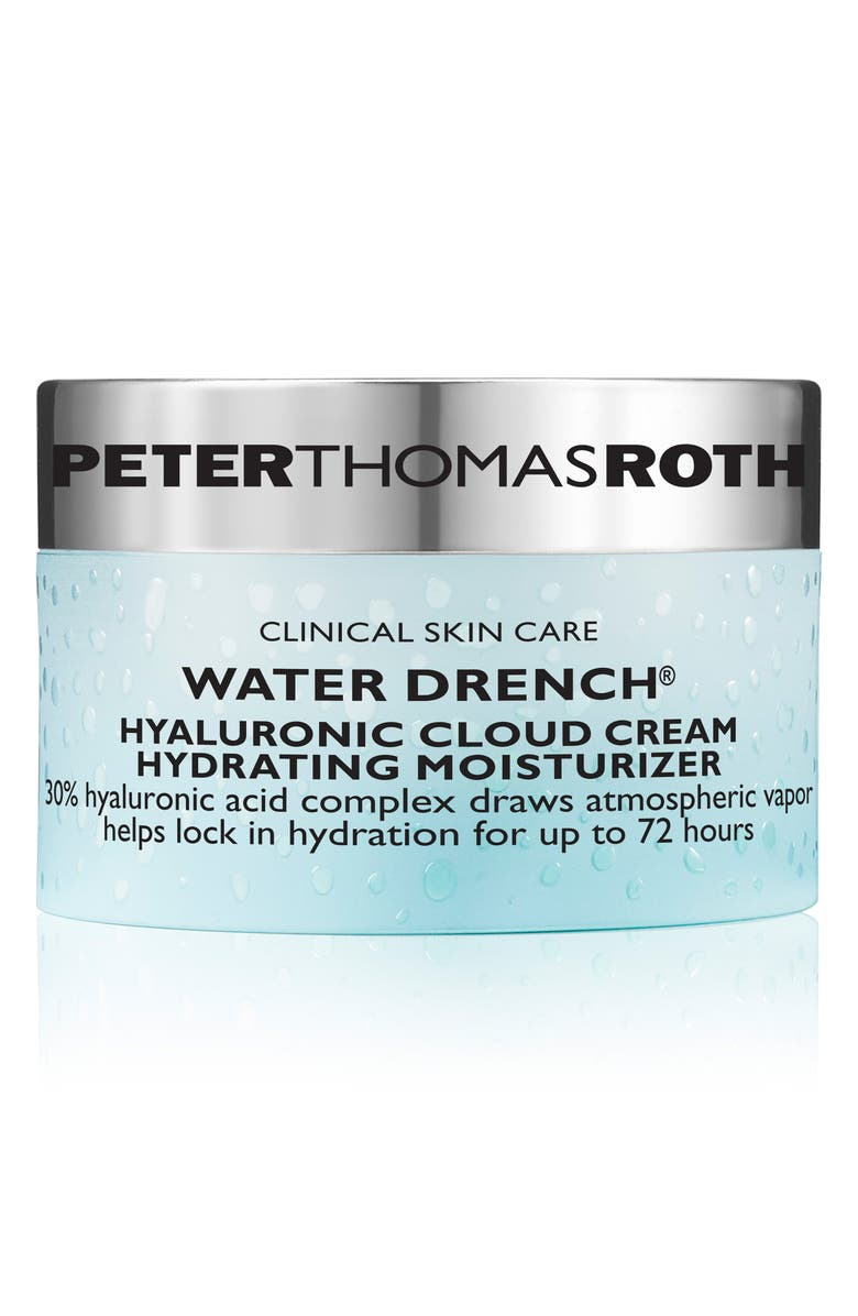 PETER THOMAS ROTH Water Drench Hyaluronic Acid Cloud Cream Hydrating Moisturizer, Main, color, No Color