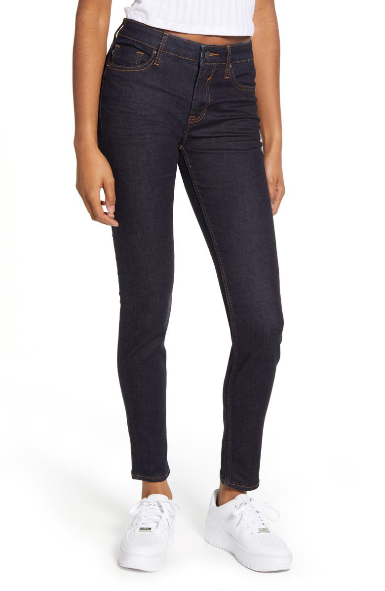 VIGOSS Marley Ankle Skinny Jeans, Main, color, RINSE