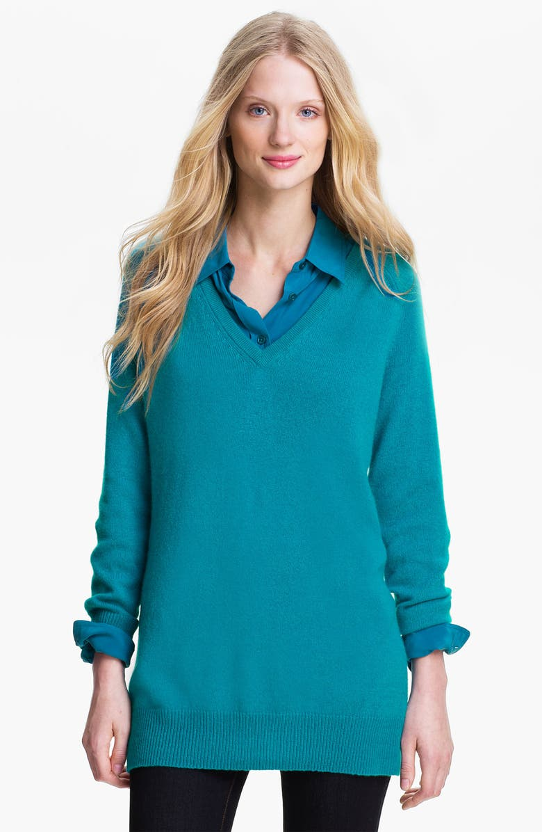 EQUIPMENT 'Asher' V-Neck Cashmere Sweater, Main, color, 106