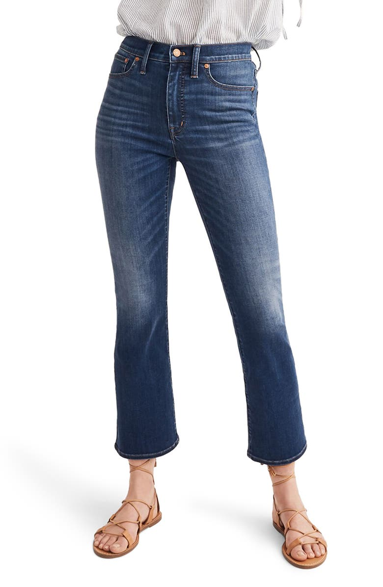 MADEWELL Cali Demi-Boot Jeans, Main, color, 400