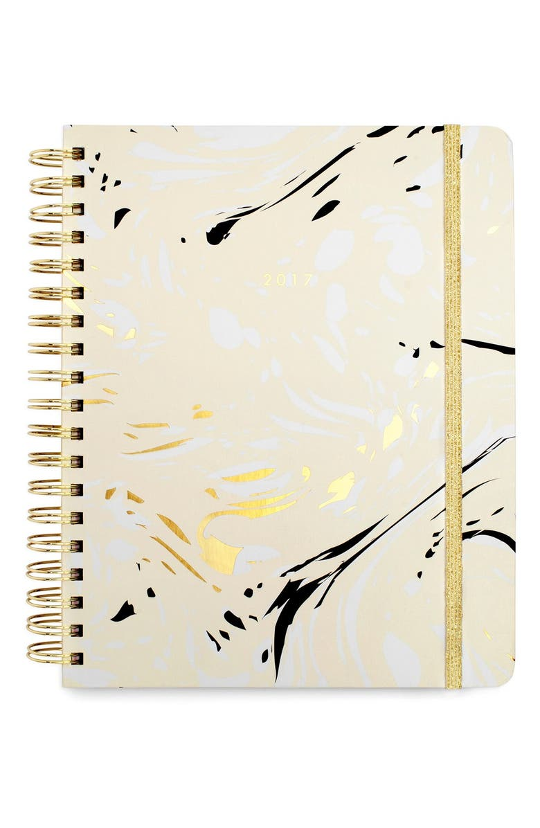 BAN.DO Large Hardcover 17-Month Agenda, Main, color, 100
