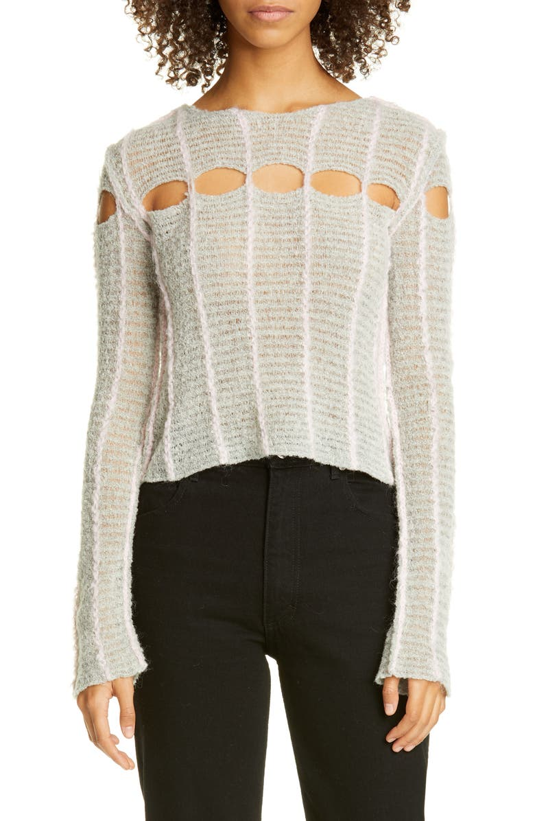 ECKHAUS LATTA Peaking Light Sweater, Main, color, 250