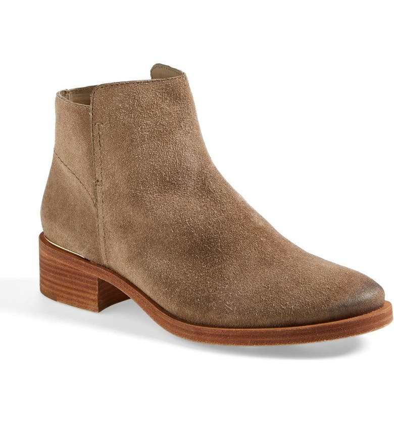TORY BURCH 'Riley' Suede Ankle Boot, Main, color, 217