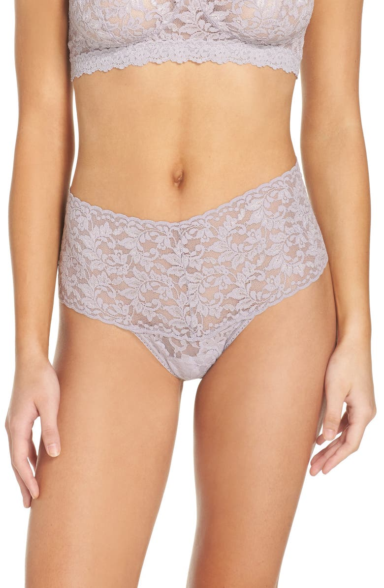 HANKY PANKY Retro High Waist Thong, Main, color, 036