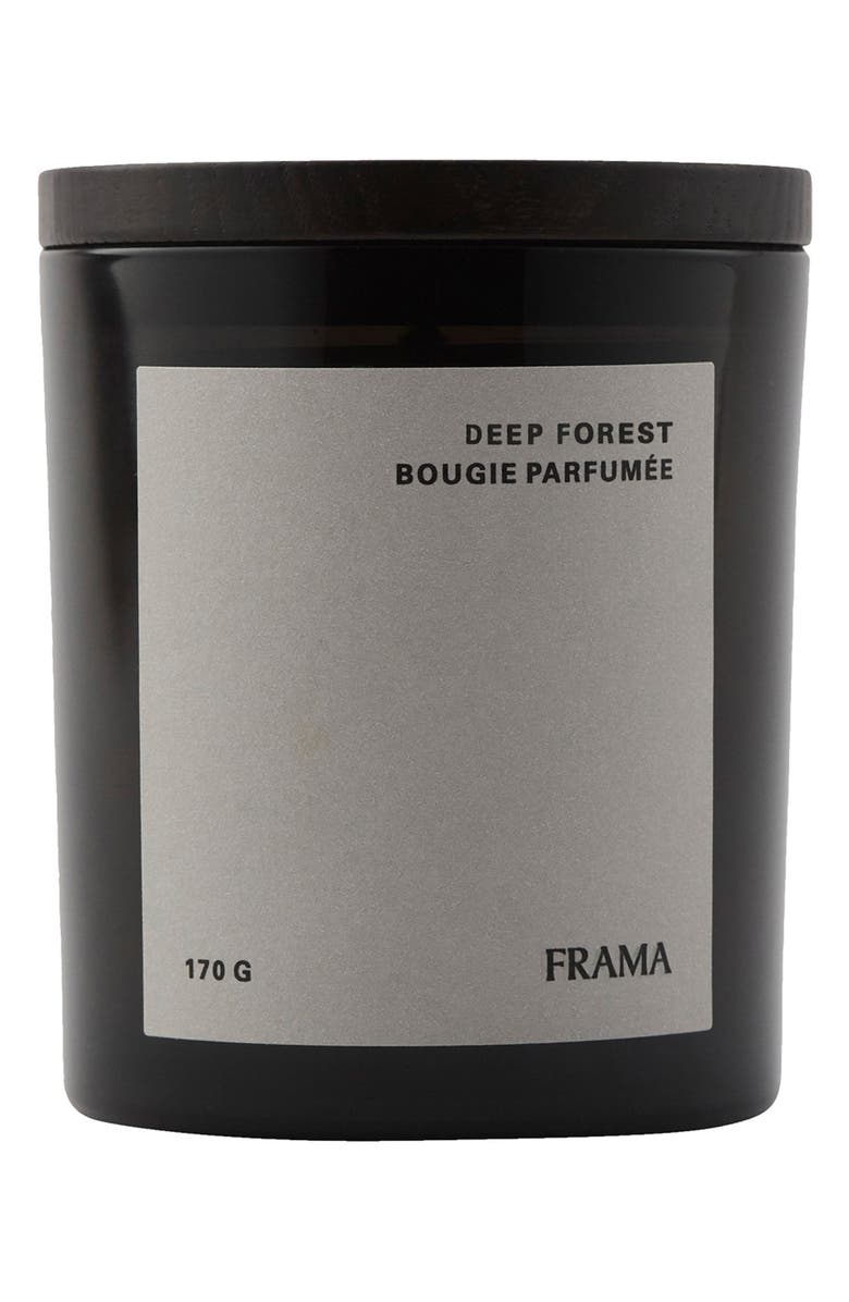 GOODEE x Frama Deep Forest Scented Candle, Main, color, DEEP FOREST