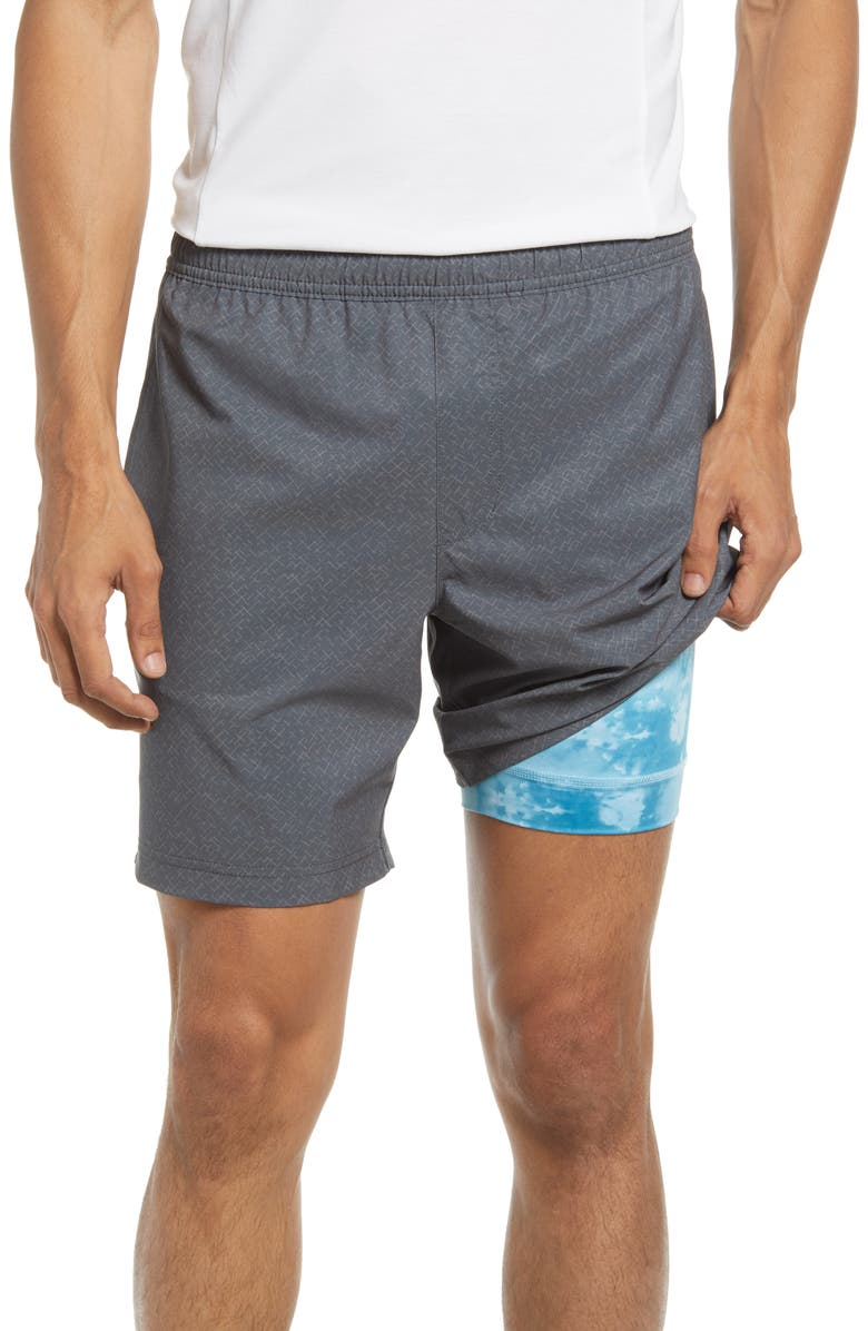 CHUBBIES The Getting Goods Training Shorts, Main, color, DARK GREY