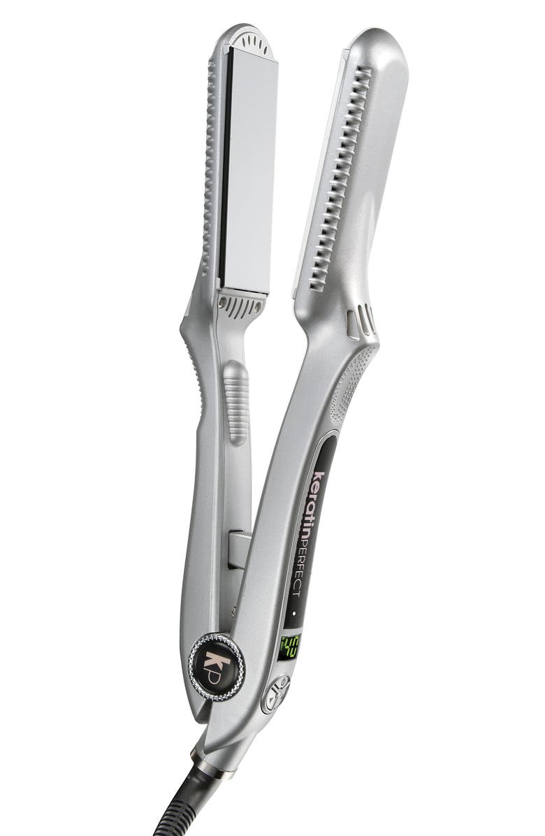KERATINPERFECT 'PerfectLight' Infrared Smoothing Iron, Main, color, No Color