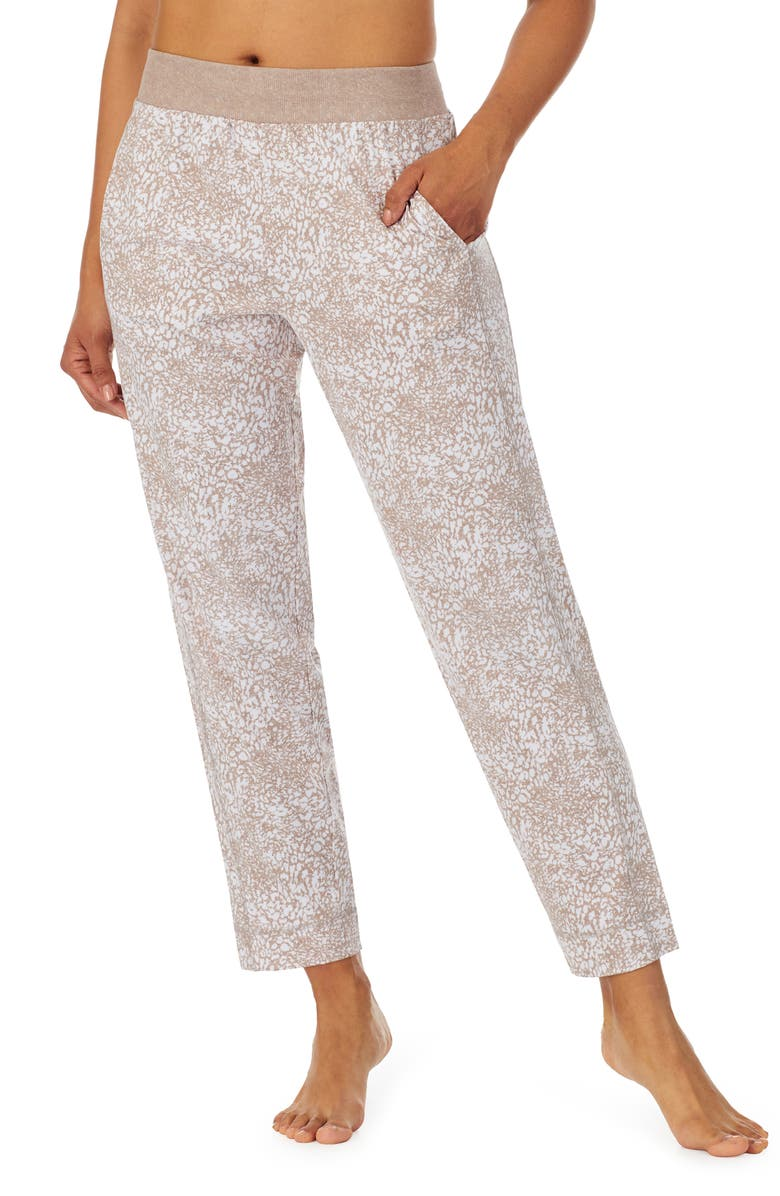Z WELL Tapered Sleep Pants, Main, color, OAT ANIMAL