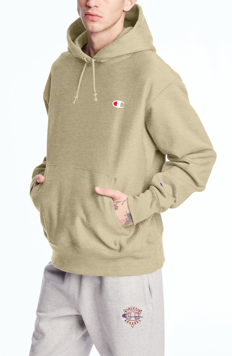 CHAMPION Reverse Weave<sup>®</sup> Pullover Hoodie, Main, color, COUNTRY WALNUT