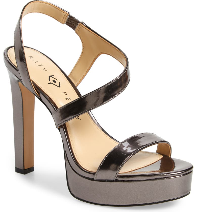 KATY PERRY Naomi Metallic Platform Sandal, Main, color, 039
