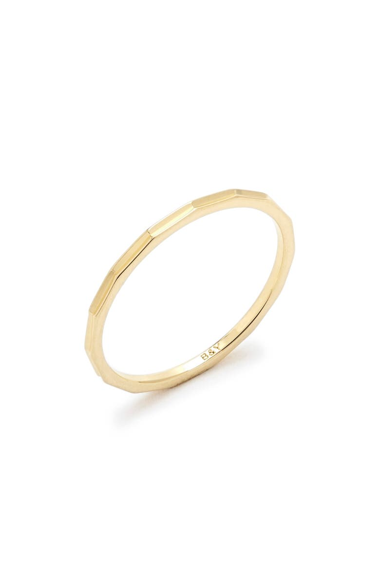 BROOK AND YORK Perry Extra Thin Ring, Main, color, GOLD