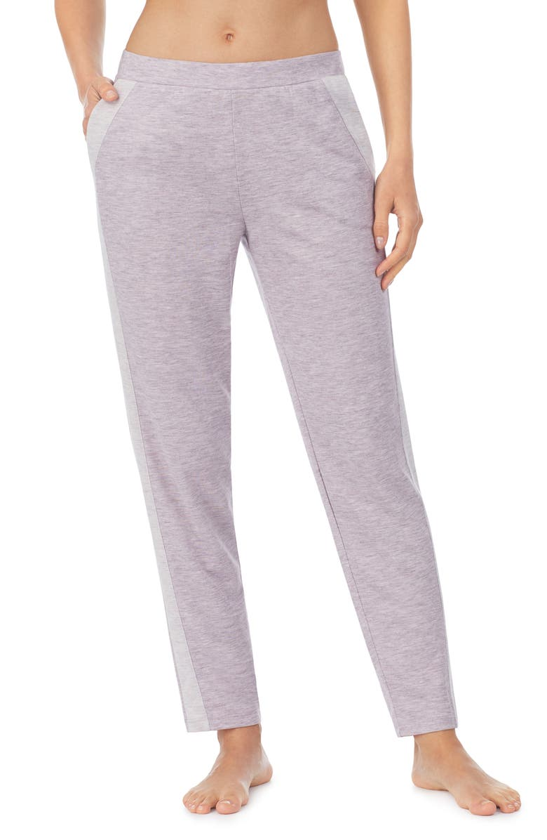 REFINERY29 Double Knit Joggers, Main, color, GREY/ IVORY