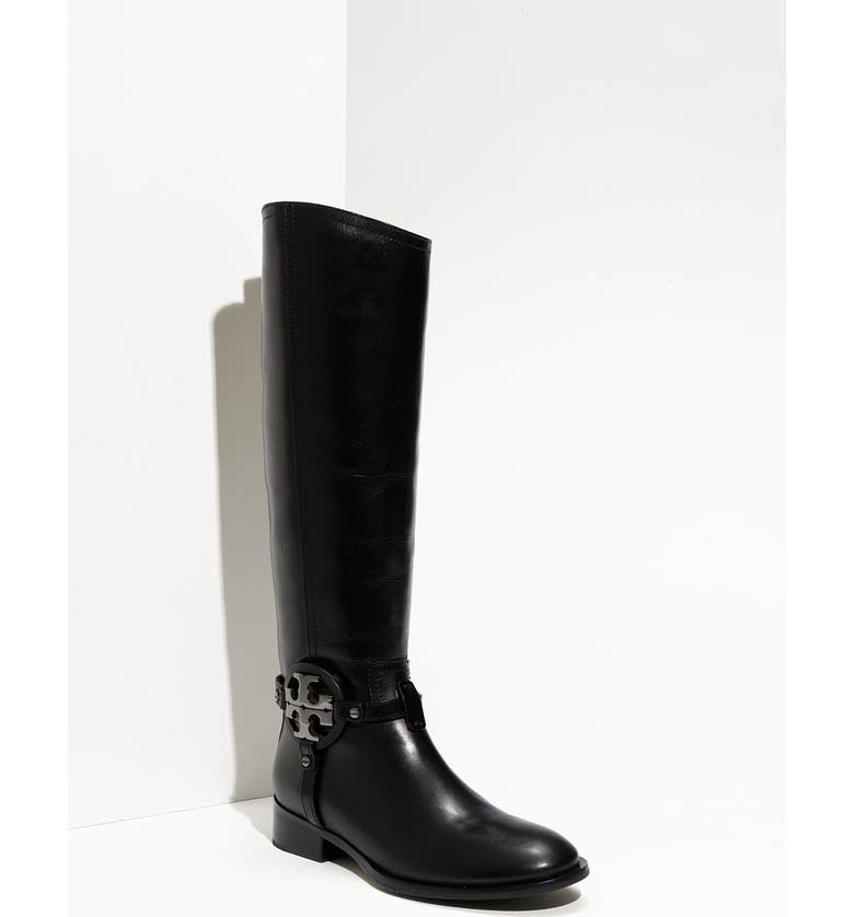 TORY BURCH 'Aaden' Tall Boot, Main, color, 001