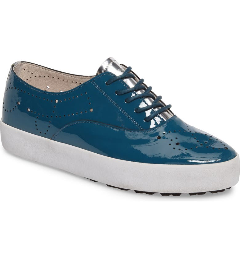 BLACKSTONE NL41 Sneaker, Main, color, Z/DNUTURQUOISE PATENT LEATHER