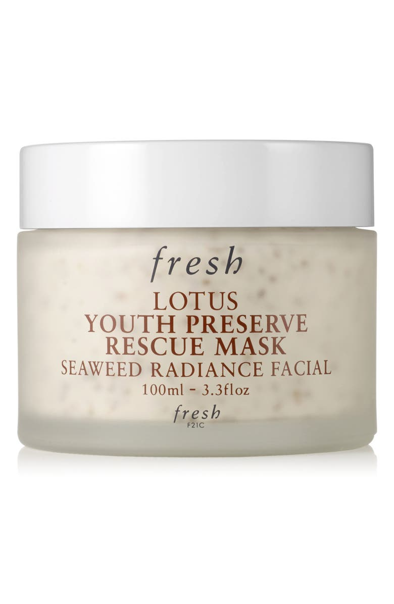 FRESH<SUP>®</SUP> Lotus Youth Preserve Rescue Mask, Main, color, NO COLOR
