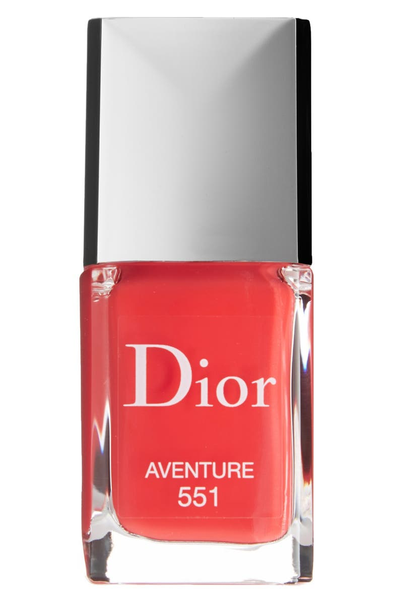 DIOR Vernis Gel Shine & Long Wear Nail Lacquer, Main, color, 551 AVENTURE