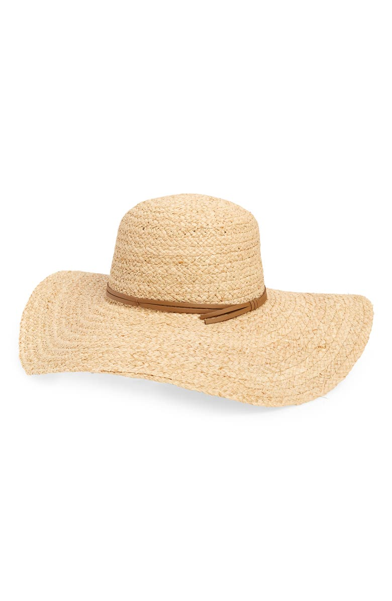 BP. Straw Floppy Hat, Main, color, 235