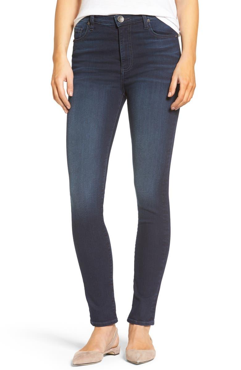 KUT FROM THE KLOTH Mia High Waist Skinny Jeans, Main, color, 910
