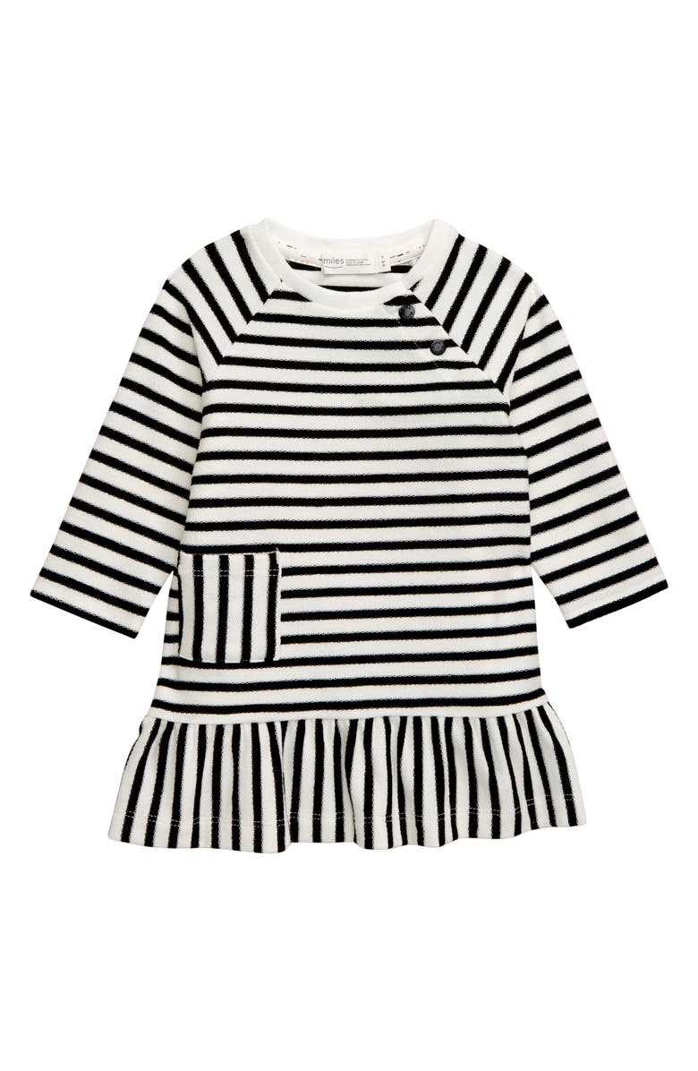 MILES baby Reversed French Terry Dress, Main, color, 900