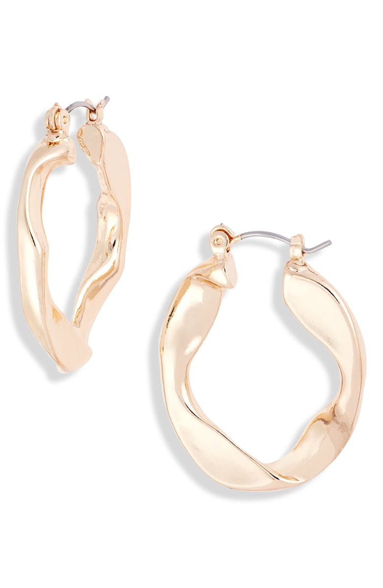 8 OTHER REASONS x Jenn Im Oro Earrings, Main, color, GOLD