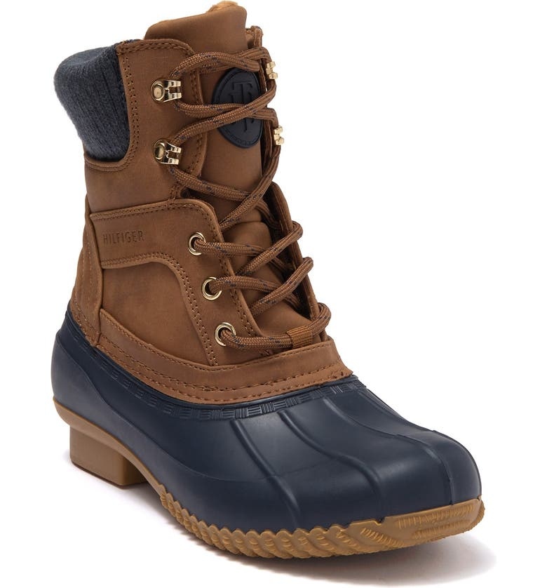 TOMMY HILFIGER Reise Lace-Up Boot, Main, color, BUMSY