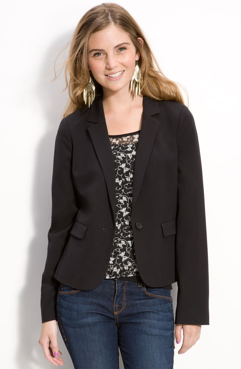 FRENCHI <sup>®</sup> One Button Blazer, Main, color, 001