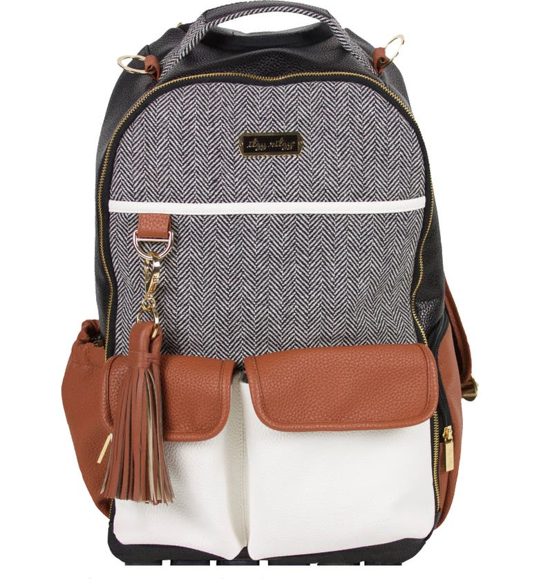 ITZY RITZY Diaper Bag Backpack, Main, color, COFFEE AND CREAM