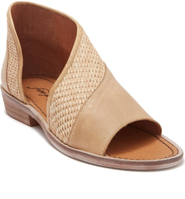 FREE PEOPLE Mont Blanc Asymmetrical Sandal, Main, color, 104