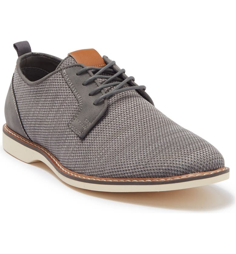 ABOUND Sheridan Knit Lace-Up Derby, Main, color, GREY KNIT