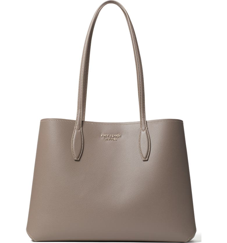 KATE SPADE NEW YORK All Day Large Leather Tote, Main, color, 023