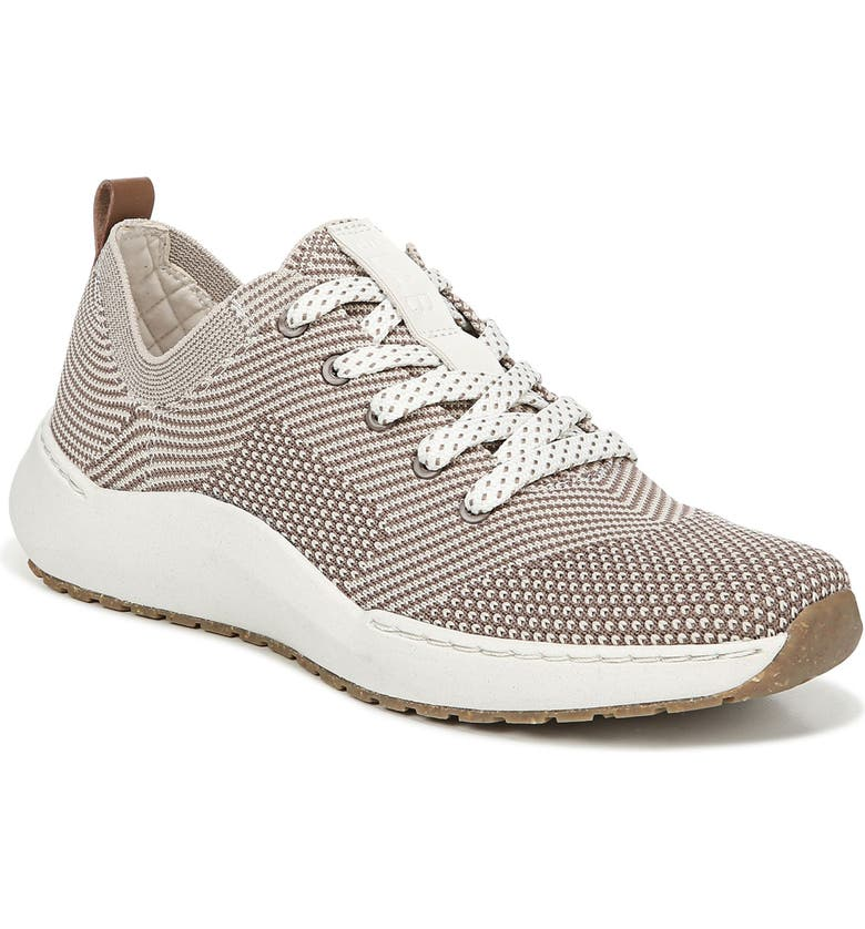 DR. SCHOLL'S Herzog Recycled Knit Sneaker, Main, color, TOFU FABRIC
