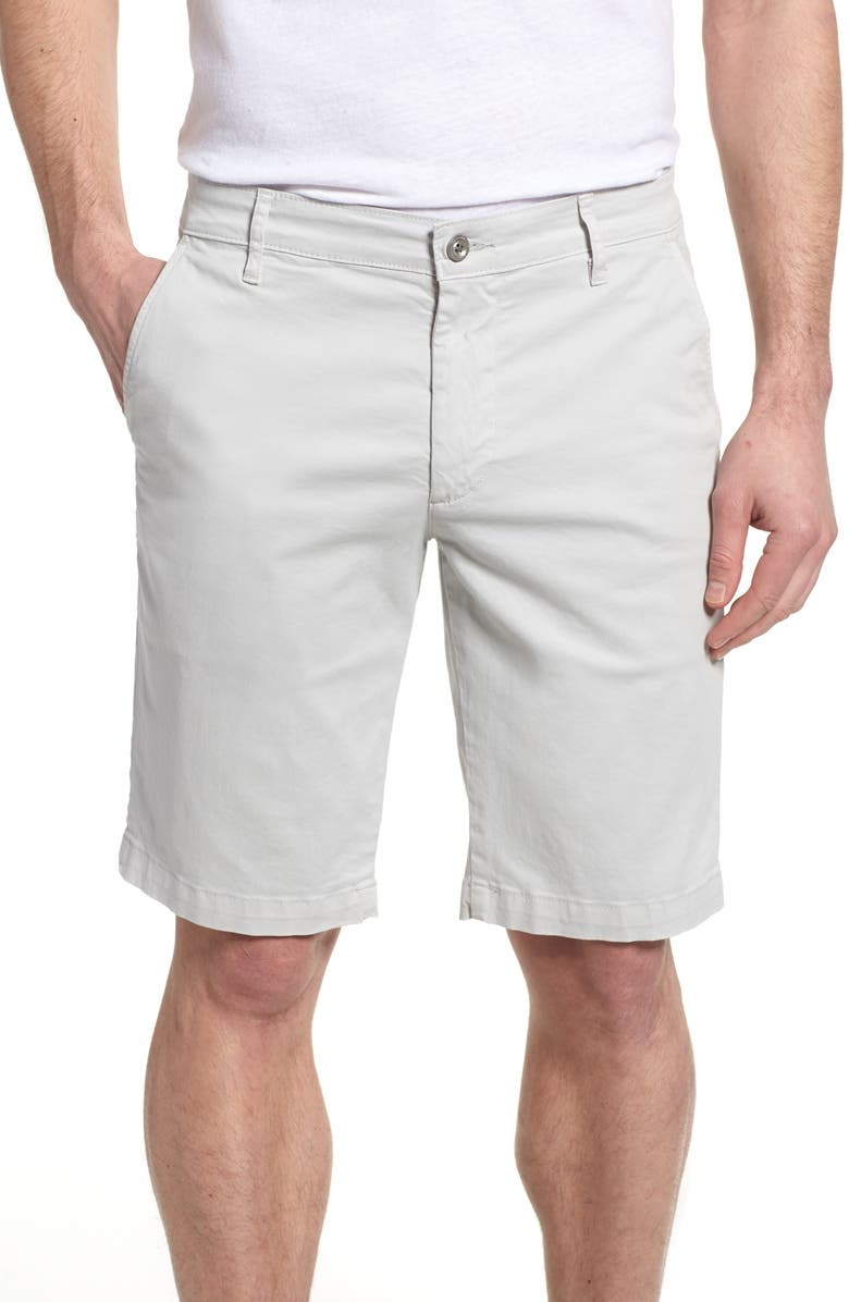 AG Griffin Regular Fit Chino Shorts, Main, color, 025