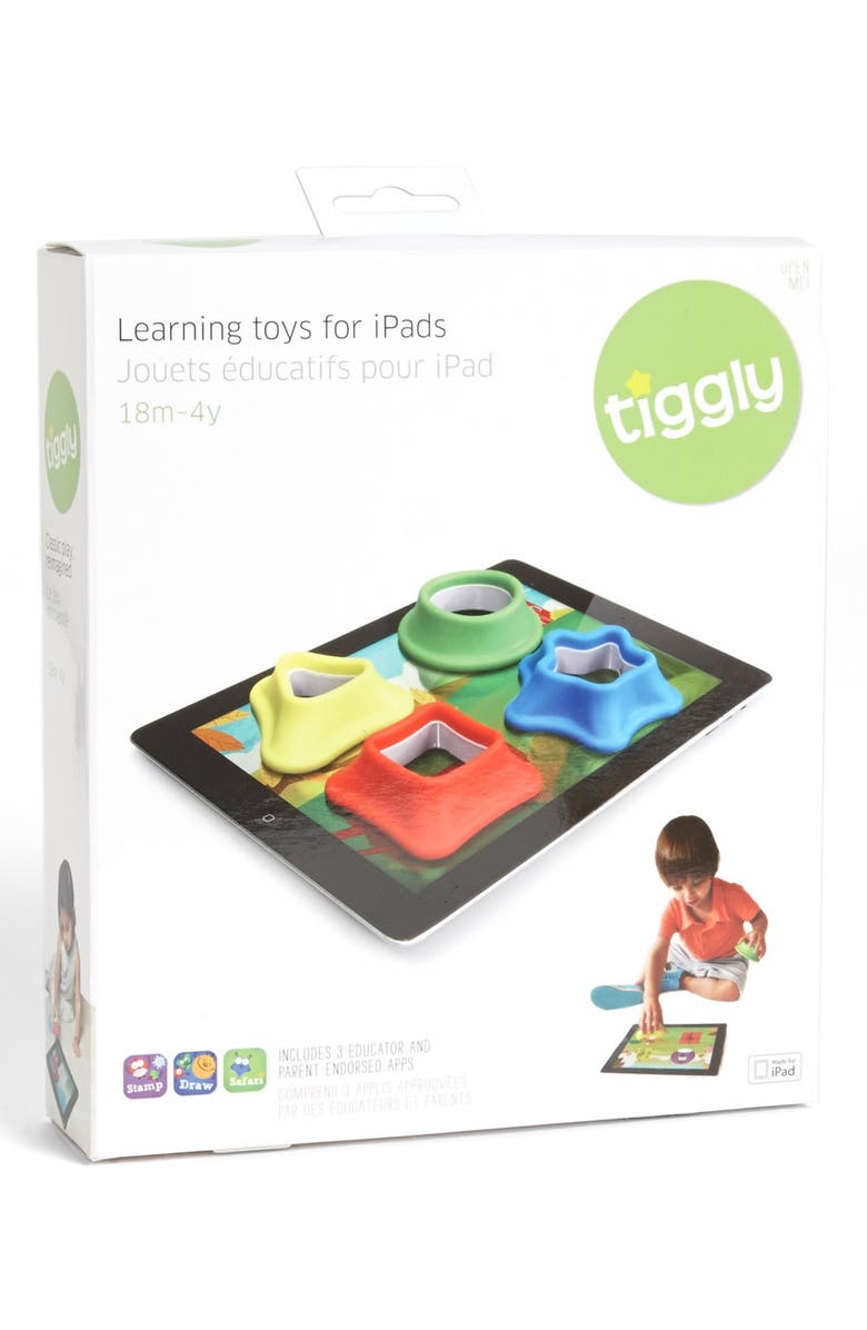 TIGGLY 'Shapes' iPad Learning Toy, Main, color, 600