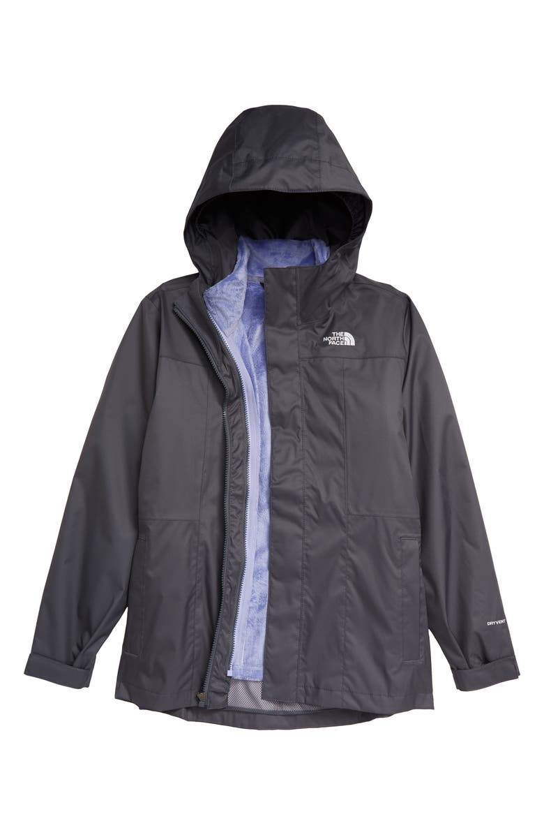THE NORTH FACE Kids' Osolita TriClimate<sup>®</sup> Waterproof 3-in-1 Jacket, Main, color, 021