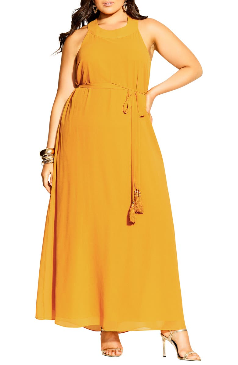 CITY CHIC Bliss Maxi Dress, Main, color, 206