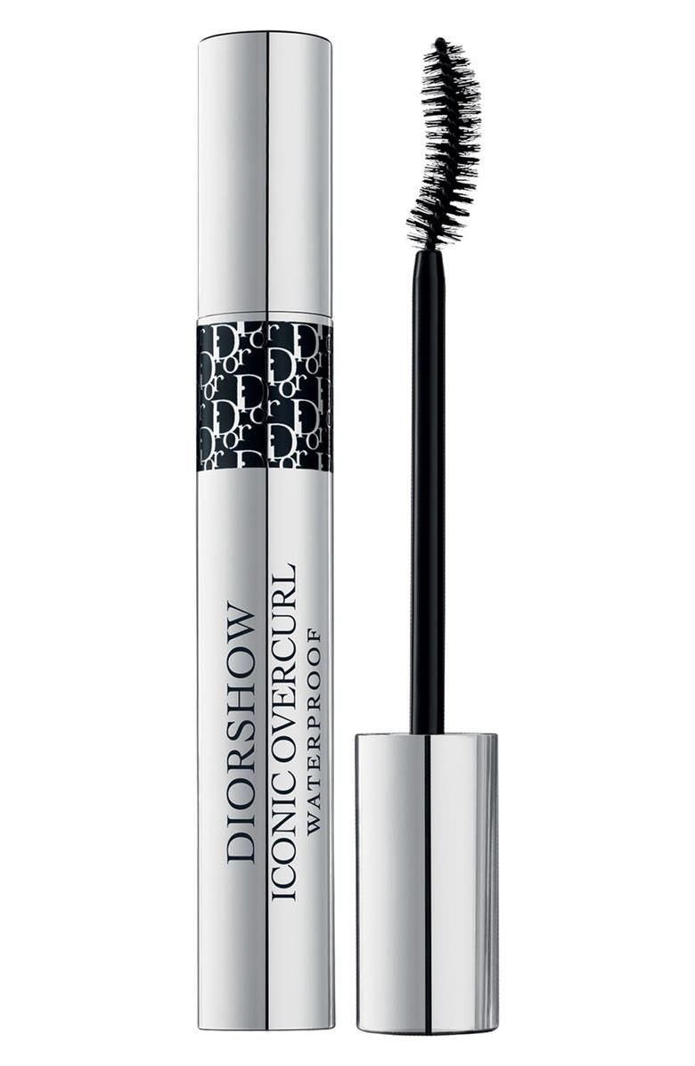 DIOR show - Iconic Overcurl Waterproof Spectacular Volume & Curl Mascara, Main, color, 091 OVERBLACK