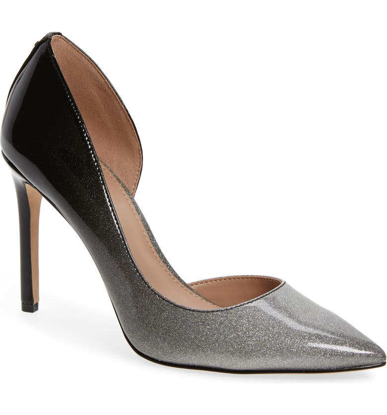 BCBG Lenny Half d'Orsay Pump, Main, color, 043