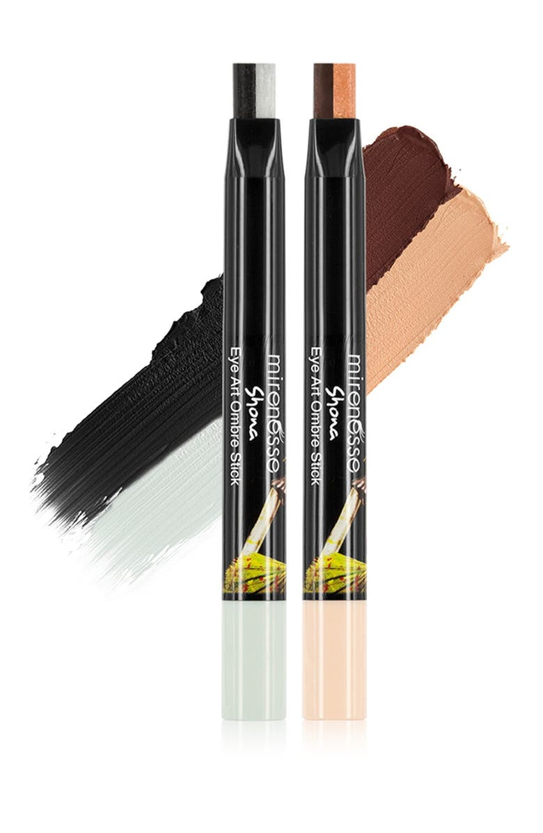 MIRENESSE Long Wear Eyeshadow Liner Ombre 2-Piece Kit, Main, color, NO COLOR