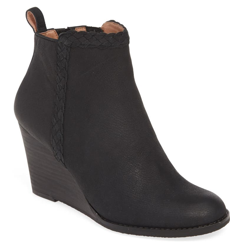 CASLON<SUP>®</SUP> Whitney Wedge Bootie, Main, color, 002