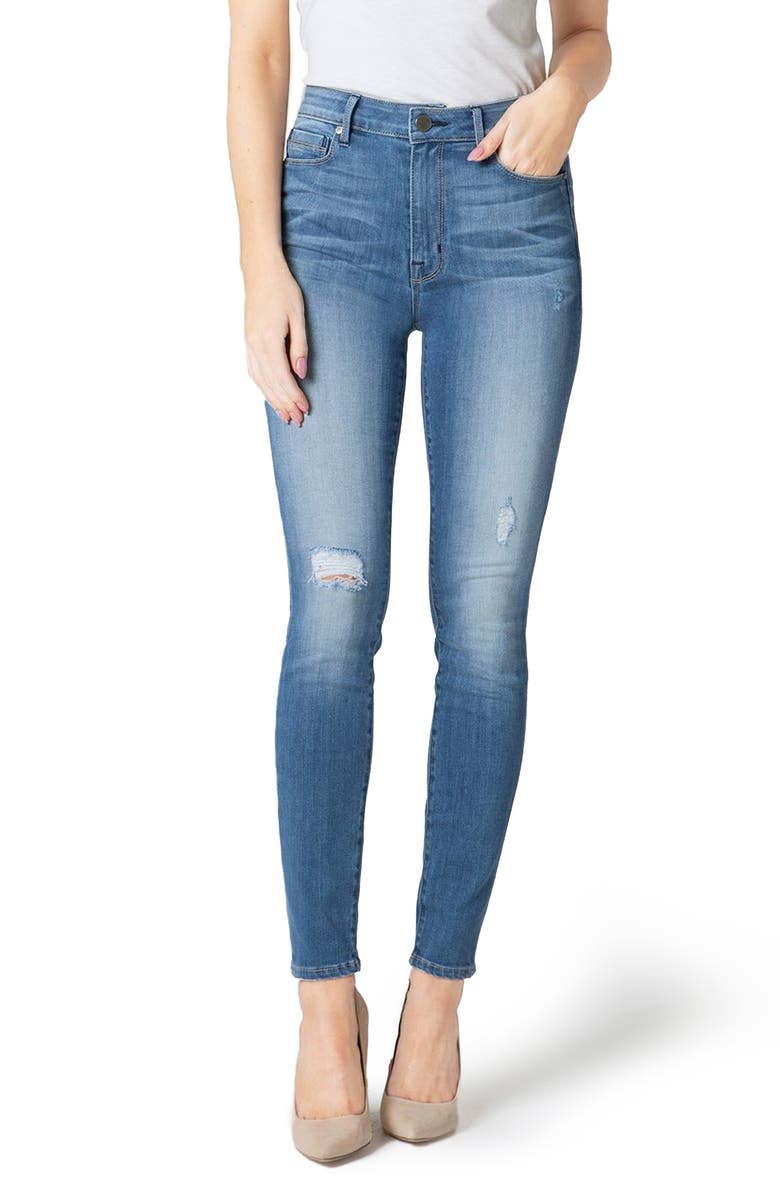 PARKER SMITH Bombshell High Waist Stretch Skinny Jeans, Main, color, 461