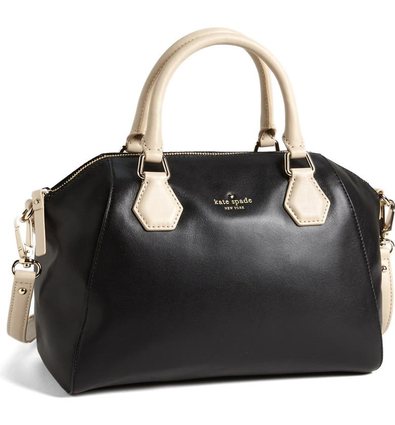 KATE SPADE NEW YORK 'catherine street - pippa' leather satchel, Main, color, 001