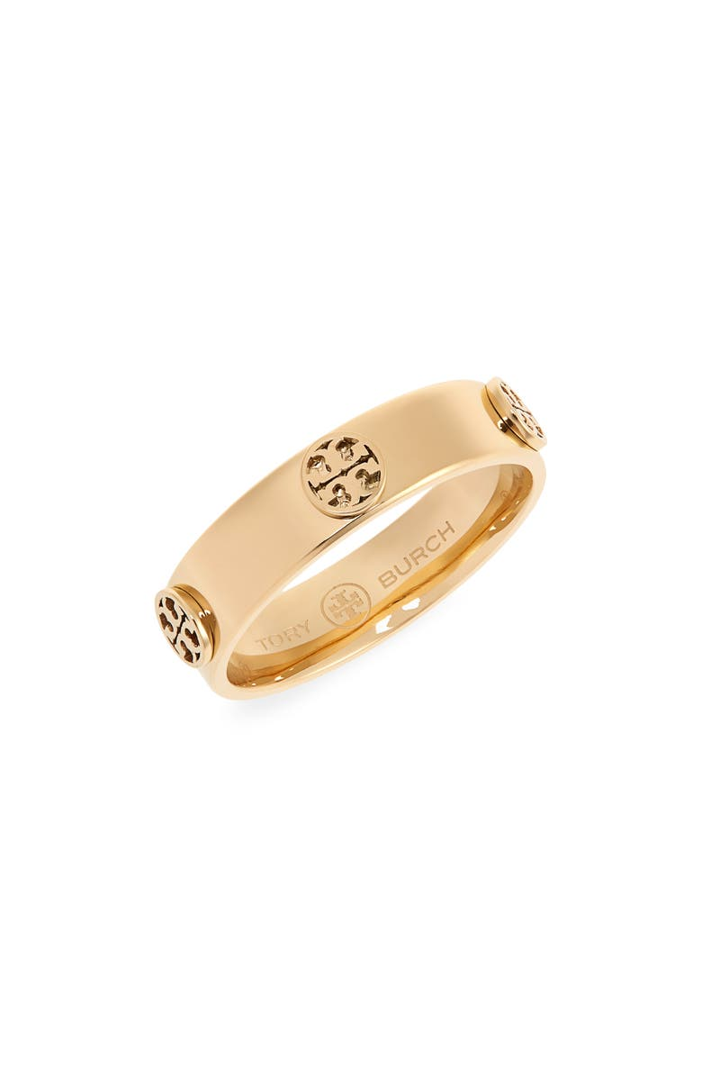 TORY BURCH Miller Stud Ring, Main, color, TORY GOLD