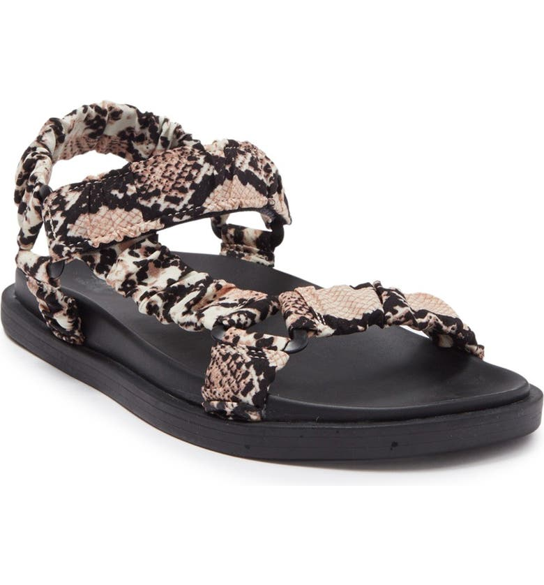 14TH AND UNION Kylie Sandal, Main, color, BEIGE NATURAL SNAKE
