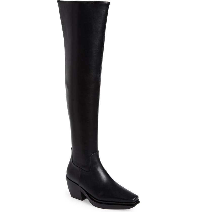 JEFFREY CAMPBELL Zelton Over the Knee Boot, Main, color, 001